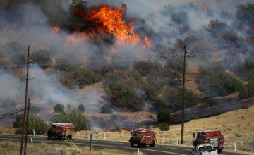 Cascade fire